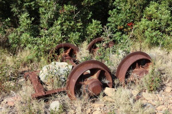 Buggeru Mine Überreste