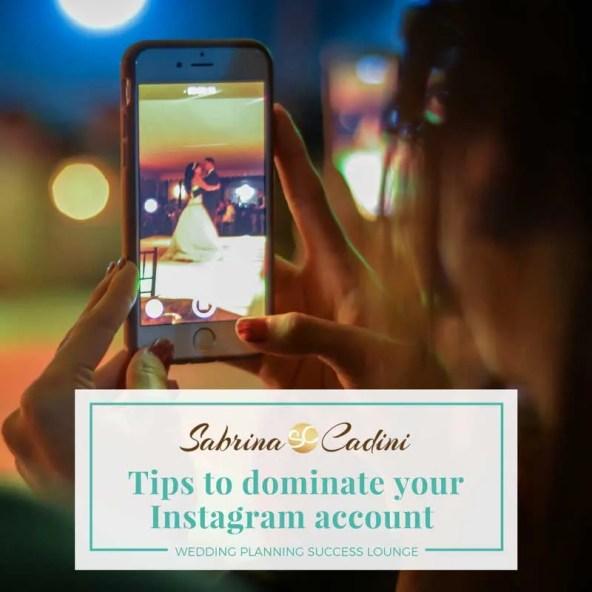 sabrina cadini wedding planning success lounge dominate instagram account creatives entrepreneurs business coach productivity