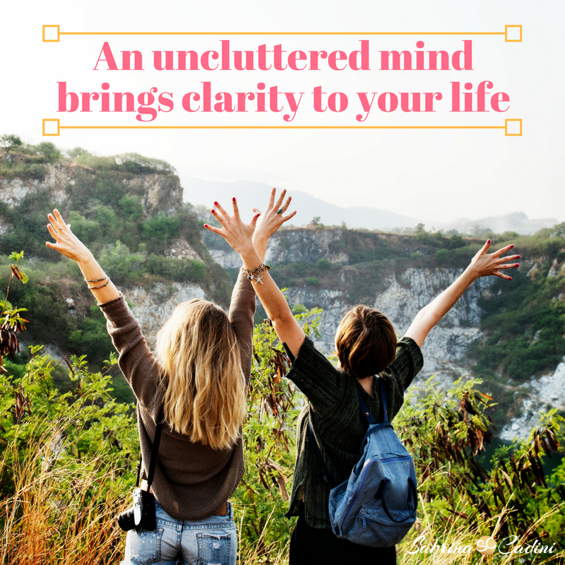 uncluttered mind brings clarity to life wedding business coach