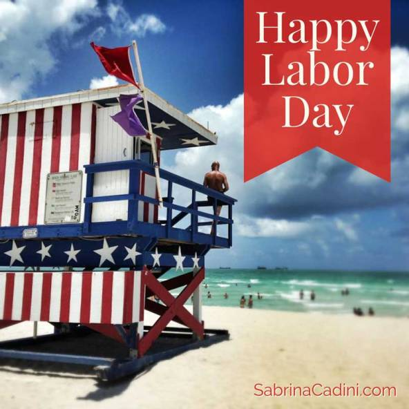 sabrina cadini wishing a happy labor day from her blog on wedding business coaching