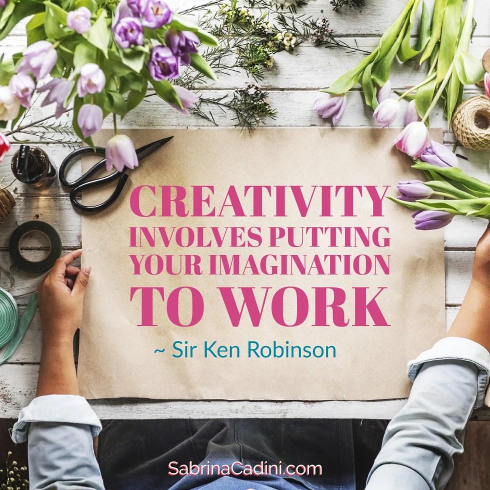 sabrina cadini monday moves me motivational quote creativitiy imagination get inspired weddingpreneurs creatives business coach