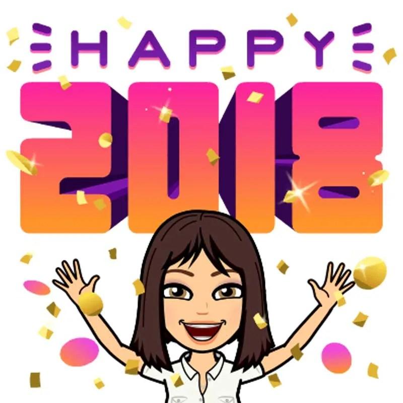 sabrina cadini happy new year 2018 word collaborate business productivity entrepreneurs creatives group