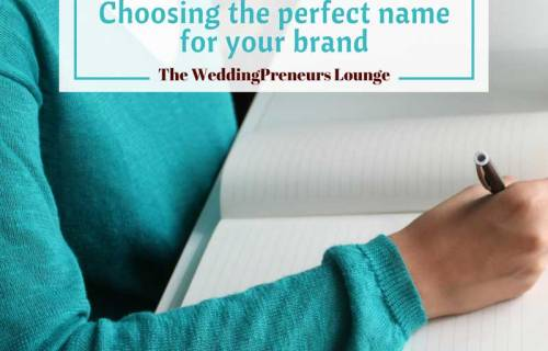 sabrina cadini weddingpreneurs lounge choosing perfect name for your brand entrepreneurs creatives business coach branding