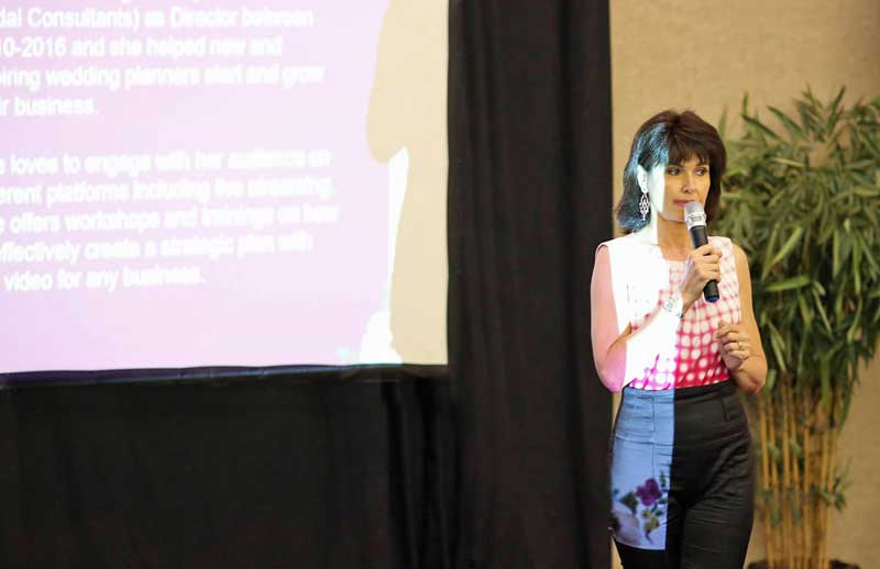 sabrina cadini let's plan conference speaker presentation business coach wedding marketing industry weddingpreneurs