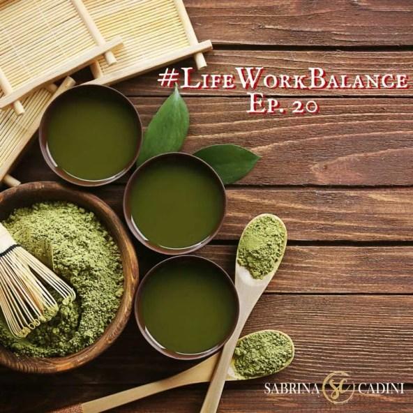 sabrina cadini life-work balance matcha healthy green tea business coach creative entrepreneurs health recipes periscope broadcast