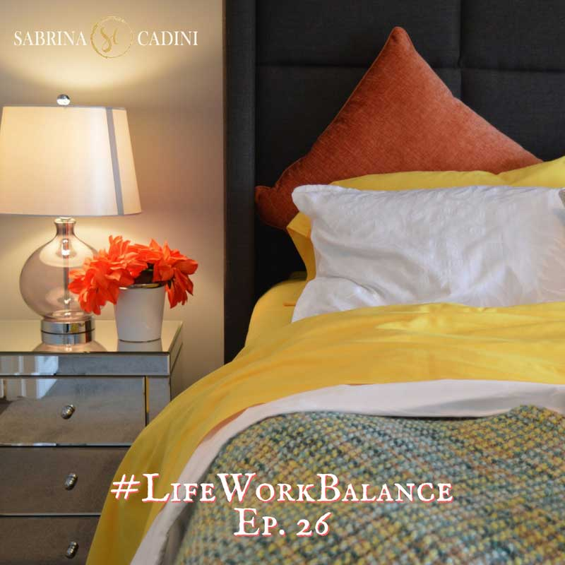 sabrina cadini life-work balance sleep dark creative entrepreneurs wellbeing business coach bedtime