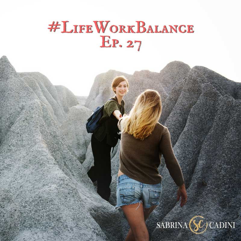 sabrina cadini life-work balance stay in shape business coach creative entrepreneurs exercise workout stress vacation travel
