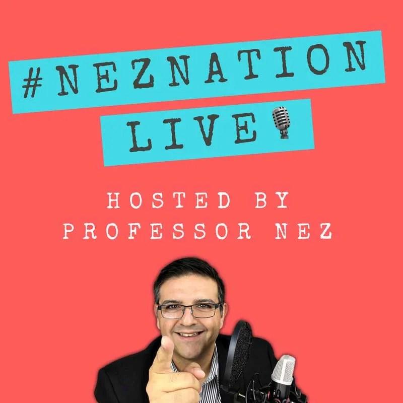 sabrina cadini podcast guest nez nation professor nez life-work balance creative entrepreneurs