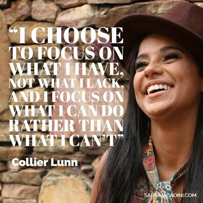 sabrina cadini monday moves me inspirational quote motivational choose to focus on what you have and what you can do mindset beliefs creative entrepreneurs business coach positivity