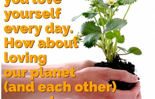 sabrina cadini earth day love planet each other pollution environment nature ecosystem
