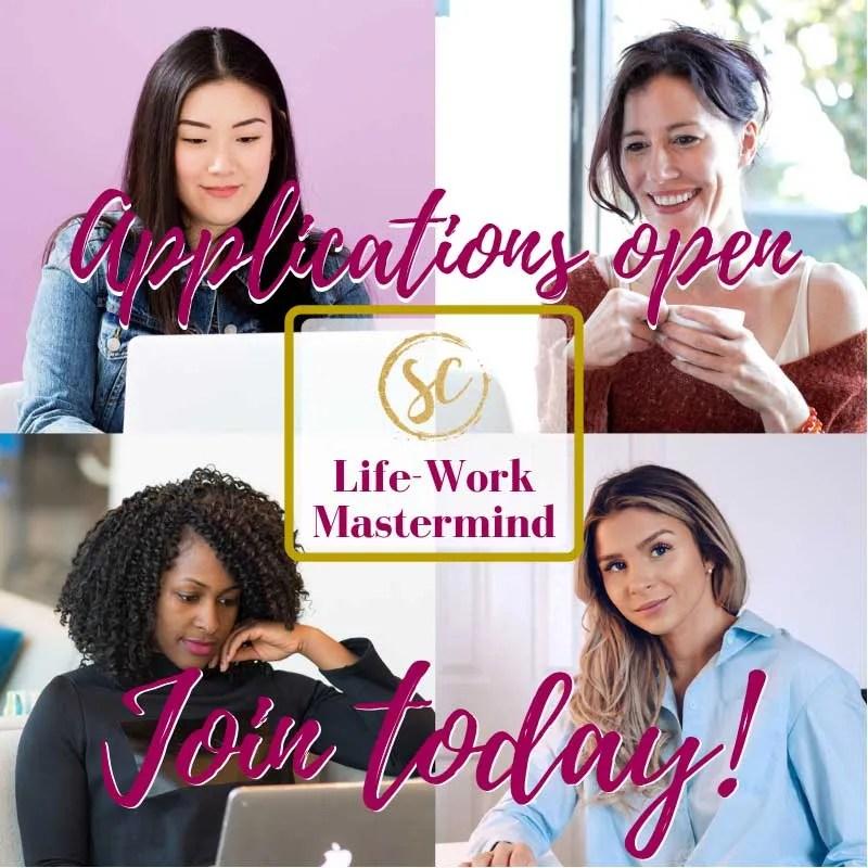 sabrina cafini life-work mastermind holistic life coach stress management time optimization productivity mastermind group professionals mompreneurs female entrepreneurs