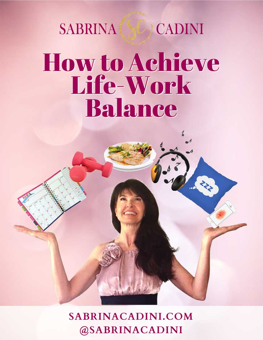 sabrina cadini life coahc brain fitness life-work balance ebook