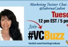 sabrina cadini life-work balance twitter chat vcbuzz entrepreneurs holistic life coach
