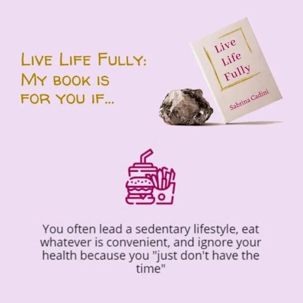 sabrina cadini live life fully holistic life coach life-work balance book crowdfunding campaign
