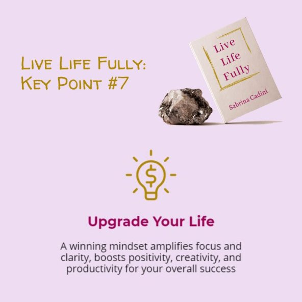 sabrina cadini live life fully holistic life coach upgrade your life book crowdfunding campaign