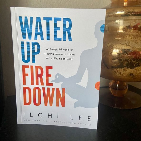 sabrina cadini book review water up fire down ilchi lee holistic life coach kiss of approval life-work balance