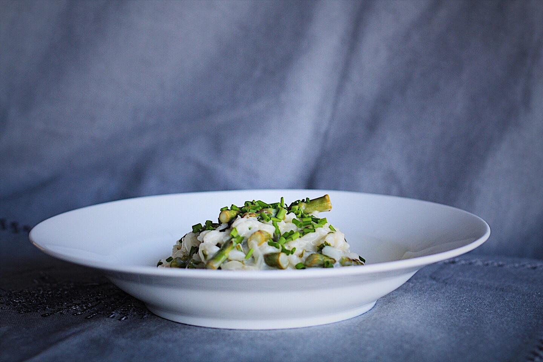 Easy Lemon Asparagus Risotto
