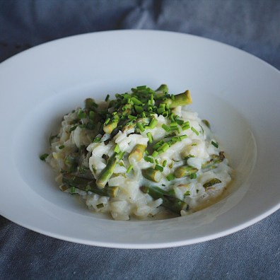 Finished Lemon Asparagus Risotto