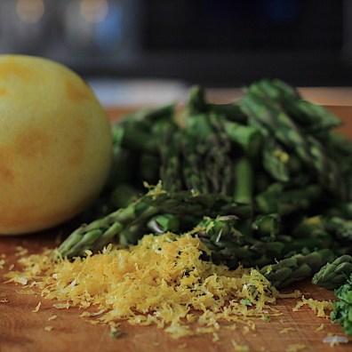 Zested Lemon