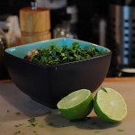 Adding Lime to Salsa