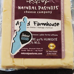 Local Natural Pastures Farmhouse Cheddar Cheese