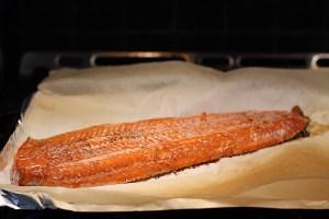 Perfectly Baked Sockeye Salmon