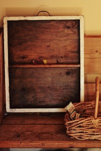 Kate Collects Vintage Trays and Baskets