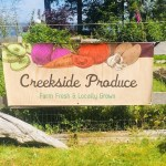 Creekside Produce Sign