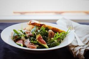 Fig, Fennel, Prosciutto Salad