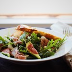 Fig, Fennel, Prosciutto Salad