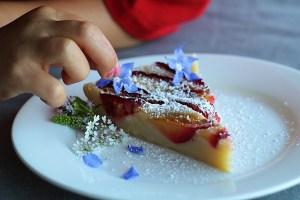 Little Hands Love To Help Decorate Dessert