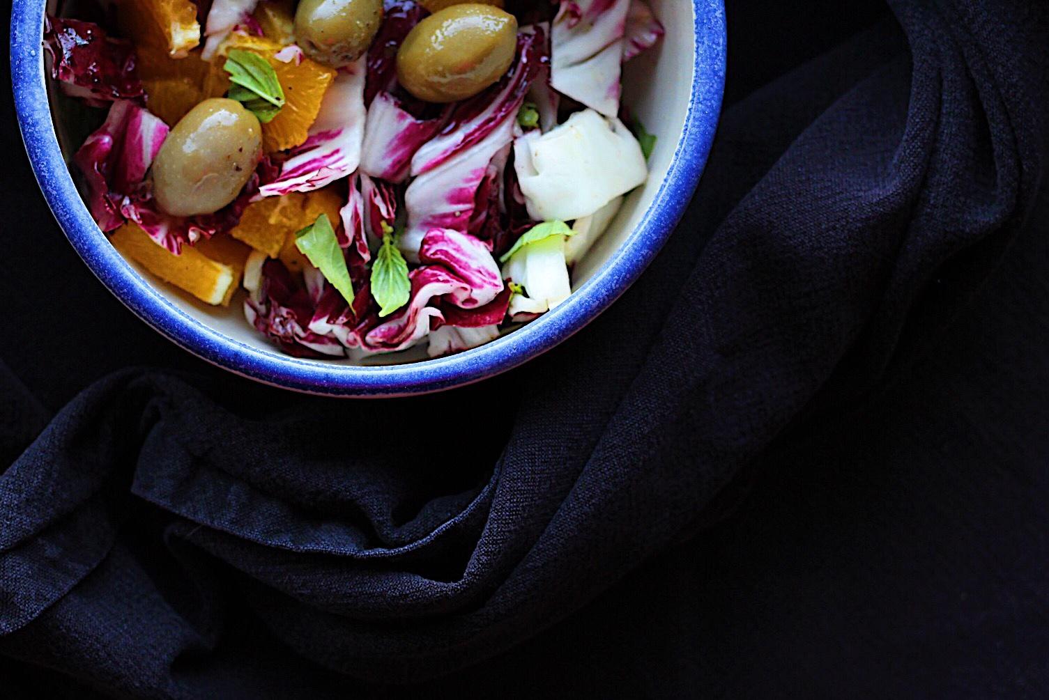 Orange Radicchio Salad And Other Ways To Use This Chicory