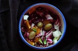 Radicchio Orange Salad With Olives