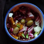 Radicchio Orange Salad With Olives
