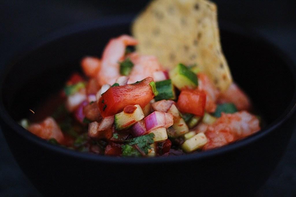 Coctel De Camarones aka Mexican Shrimp Cocktail