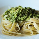 Easy Vegetarian Sorrel Pesto With Hazelnuts And Parmesan Cheese