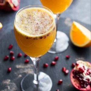 Ginger Beer Mimosas