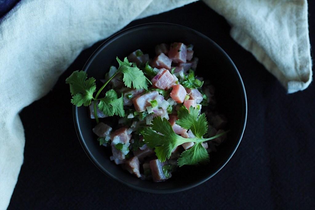 Sustainable seafood-BC Tuna Ceviche