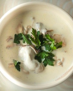 Creamy Classic Oyster Stew