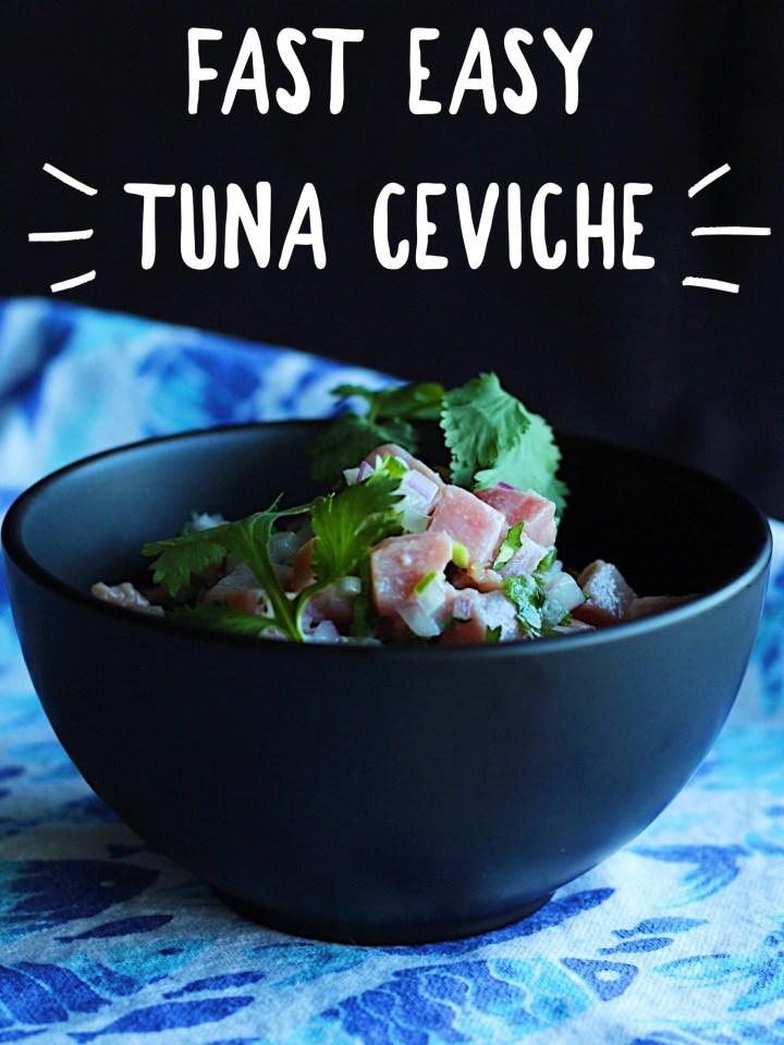 Healthy Tuna Ceviche Recipe
