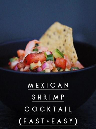 Mexican Shrimp Cocktail Recipe Easy