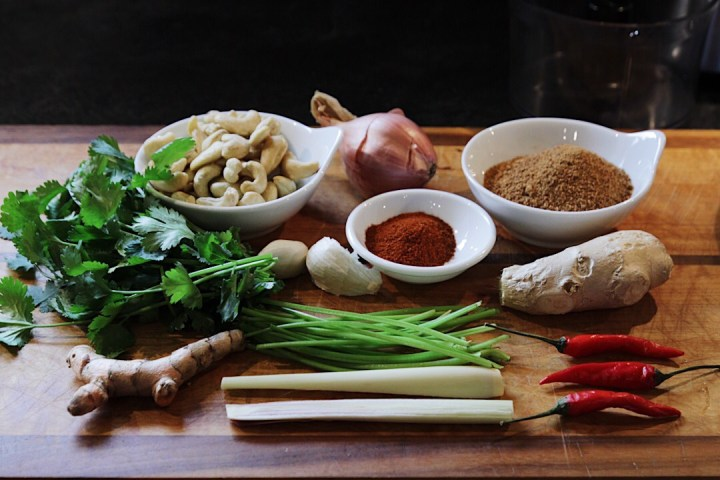 Laksa Paste Ingredients