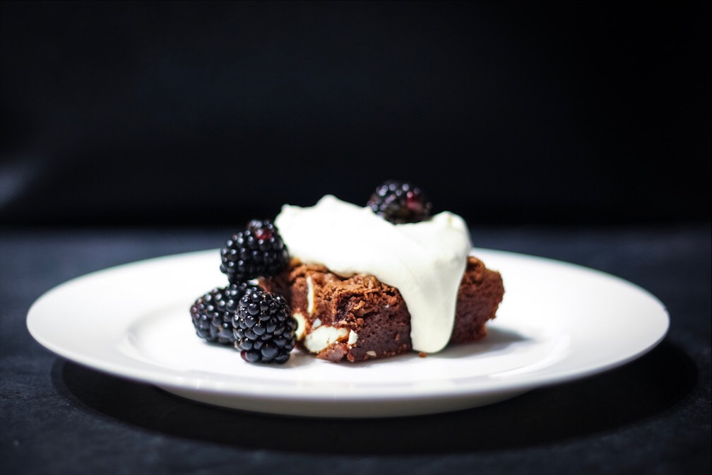 Easy Chocolate Almond Brownie Recipe