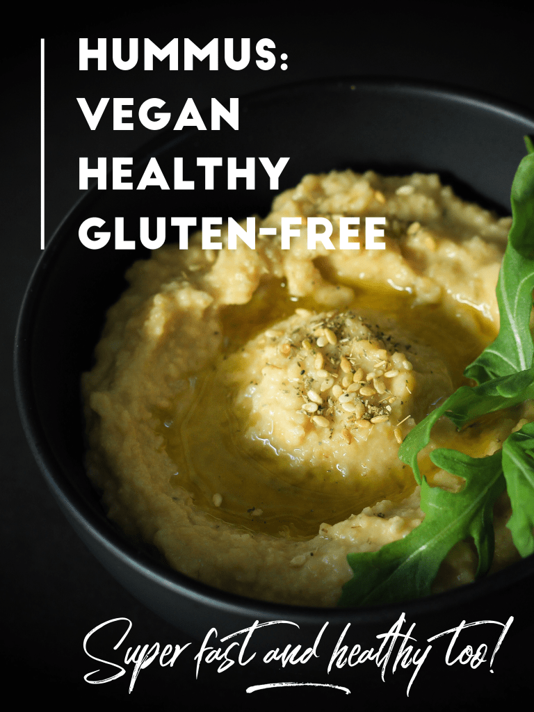 Fast Easy Healthy Vegan Hummus (Houmous)