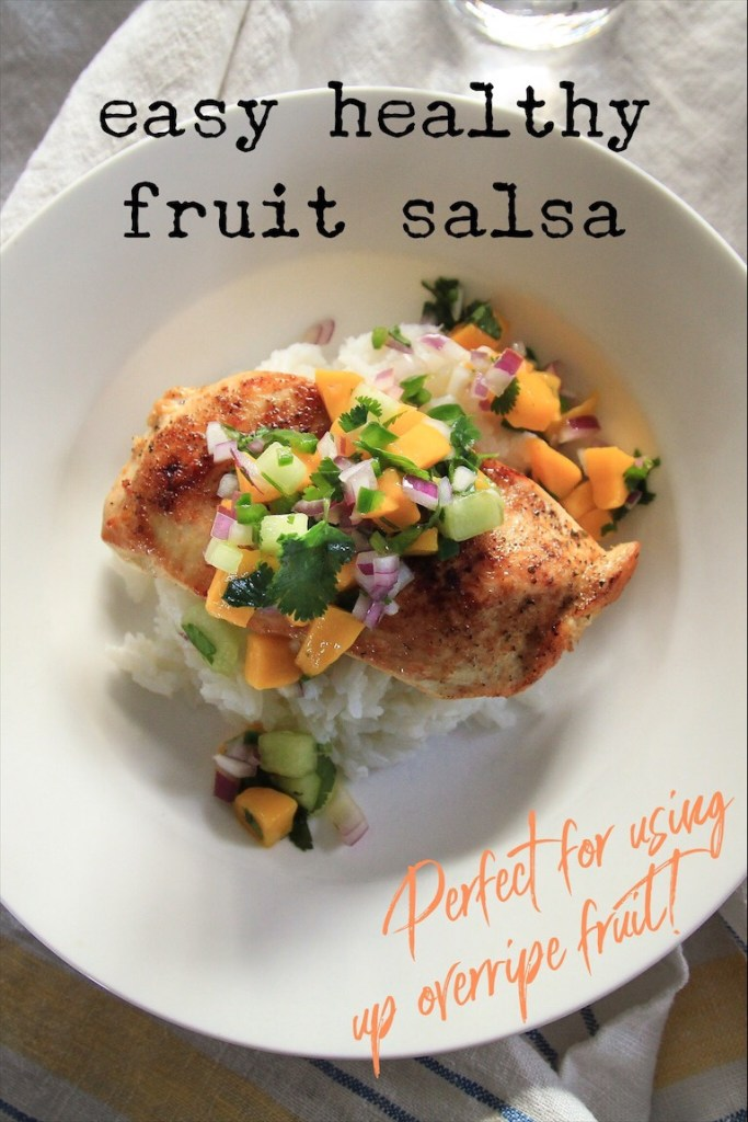 Easy Quick And Healthy Fruit Salsa Recipe