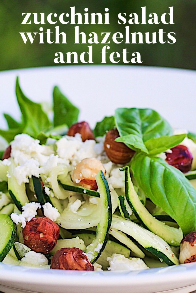 Zucchini Salad With Hazelnuts And Feta And More Courgette Recipes