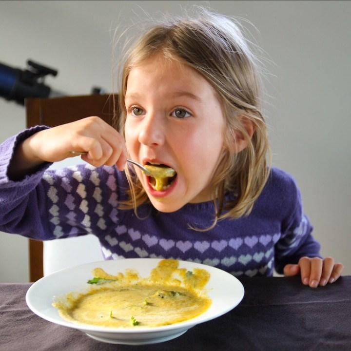 Cheesy Delicious Gluten Free Broccoli Soup