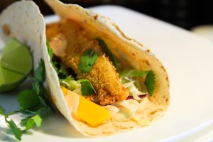 Lingcod Fish Tacos With Cabbage Avocado And Mango