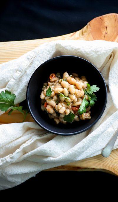 Vegan Italian White Beans