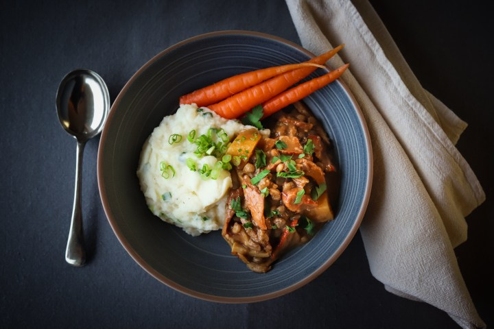 Wild Mushroom And Lentil Stew Recipe